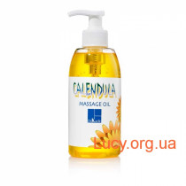Массажное масло с зародышами пшеницы и календулой - Calendula-Wheat Germ Massage Oil (Pump) (330 мл)