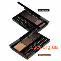Набор для бровей Holika Holika Wonder Drawing Eyebrow Kit 01 Dark Brow - 20015791