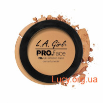 LA Girl - HD PRO Face Matte Powder (True Bronze) - Компактна матуюча пудра 7 гр