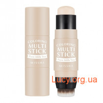 Румяна-стик - MISSHA Coloring Multi Stick (BE01/Pure Milk Tea) - M6496