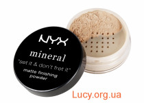 Минеральная пудра NYX MINERAL FINISHING POWDER 8 г LIGHT/MEDIUM (MFP01)
