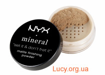 Минеральная пудра NYX MINERAL FINISHING POWDER 8 г MEDIUM/DARK (MFP02)