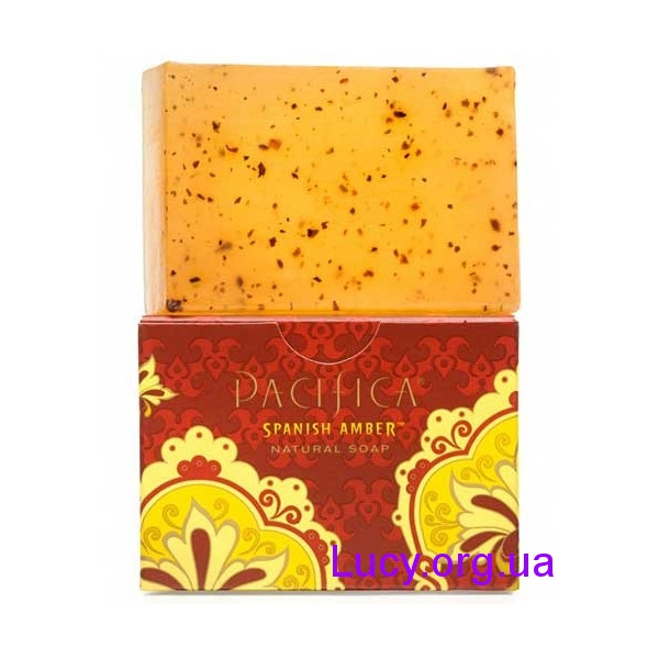 Pacifica Натуральне мило - Spanish Amber / 170 г