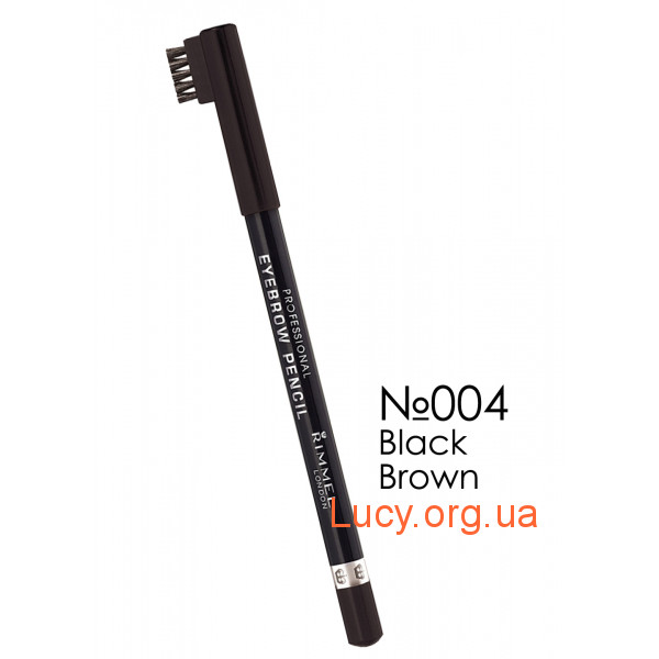 Rimmel Rimmel EYEBROW PENCIL карандаш для бровей №04 Black Brown