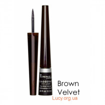 GLAM'EYES PROFESSIONAL LIQUID LINER підводка для очей  Brown Velvet