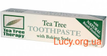 Toothpaste with baking soda and tea tree oil 5oz, 142г