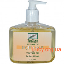 Antiseptic liquid soap - Жидкое мыло для лица и рук с маслом чайного дерева, 236 мл